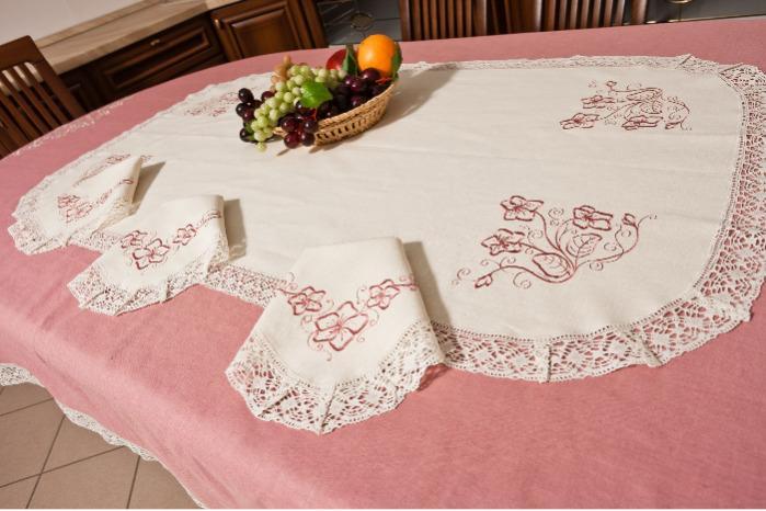 "Tablecloth ""Violet"" -"