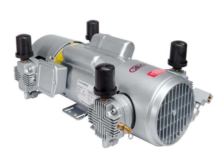Piston Compressors - Gast piston air compressors and vacuum pumps