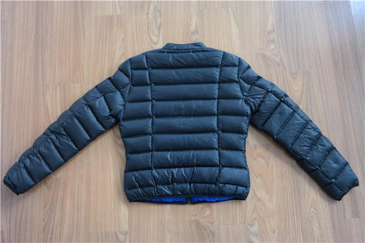 Black Lightweight down coat for women - YH16-10-W