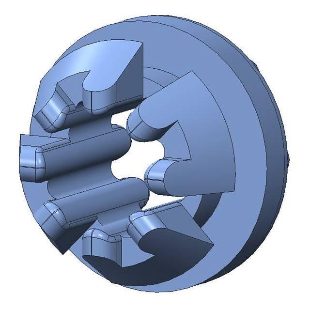 SCREW GROMMET THRMPL BLUE - Aearo Technologies, LLC P-410-1