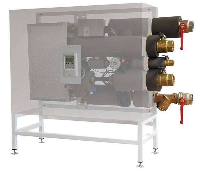 Vermietung orange-line - Frischwasserstation MHFW2
