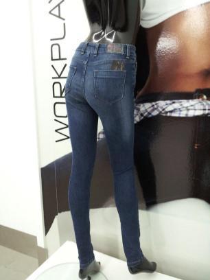 Jeans - Calça de ganga Senhora