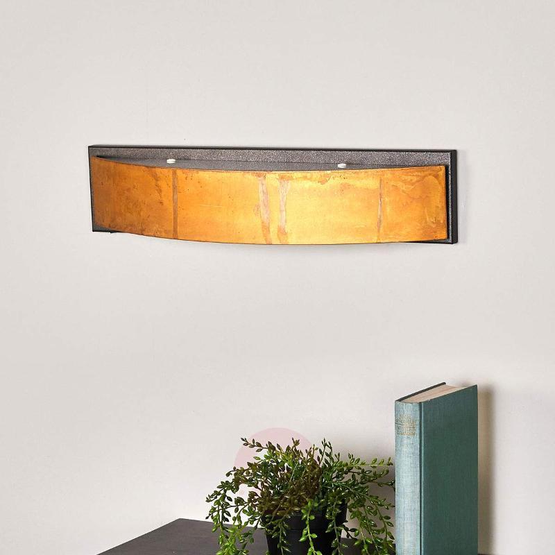Exclusive wall lamp LOLA brown - Wall Lights