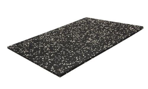 Rubber mat - Rubber mat voor in de sportschool. Zeer slijtvast & slagvast.