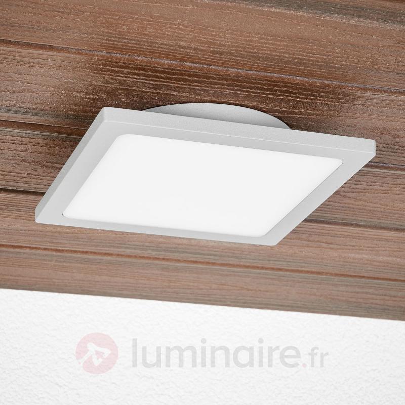 Plafonnier d'extérieur LED Mabella avec détecteur - null