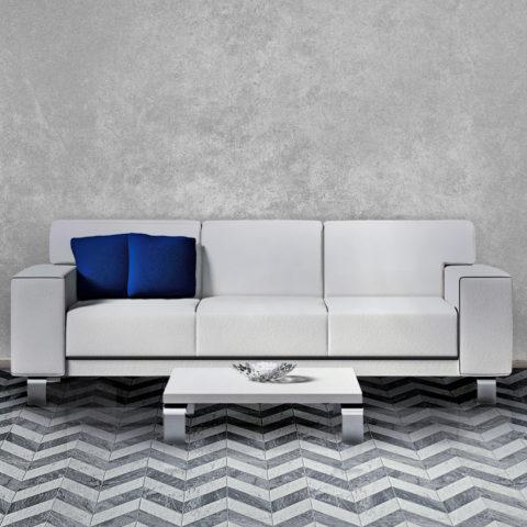 Ideamarmo Chevron Class Collection - Chevron marble mosaic
