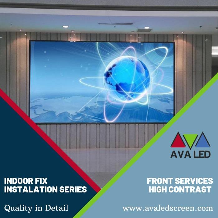 Schermate informative della reception dell'hotel Hotel - Informazioni Schermi a LED giganti AVA