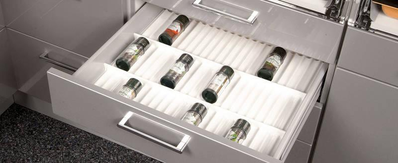SALSA spice insert Reorganize your spice life! - Salsa Professional high-gloss white