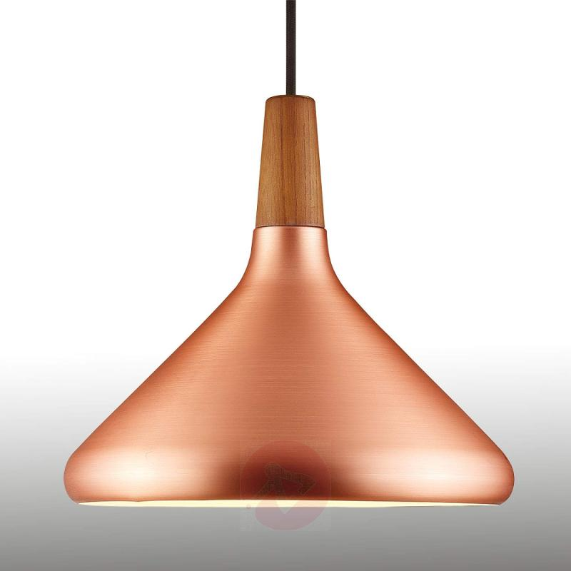 27 cm - copper coloured pendant lamp Float - indoor-lighting