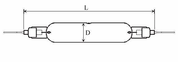 HIGH PRESSURE QUARTZ LAMPS - Type: TQIHPL