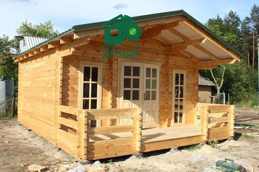 Log cabin -