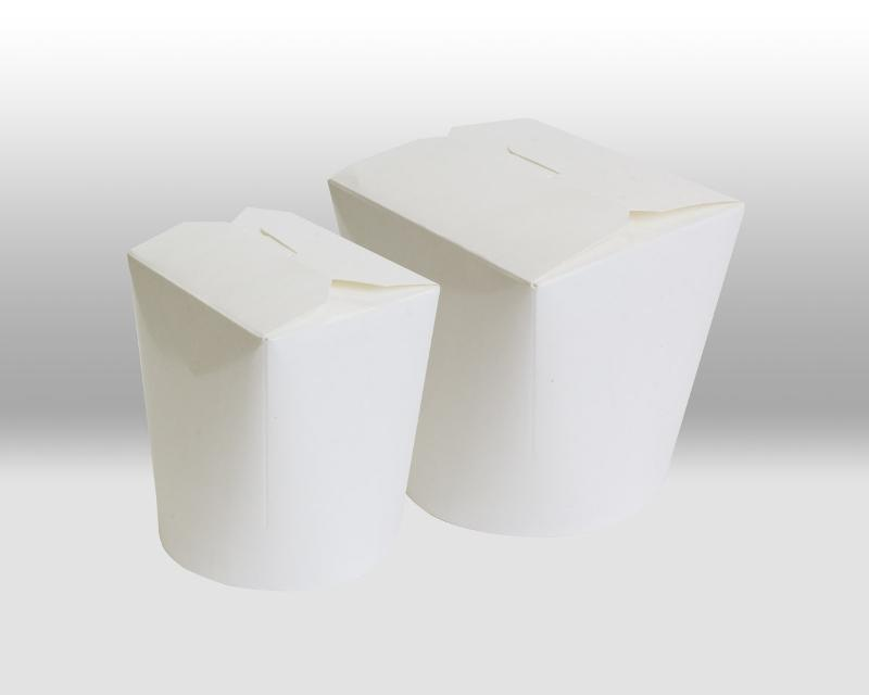 White Paper Noodle Box - PACKAGING FOR TAKEAWAY