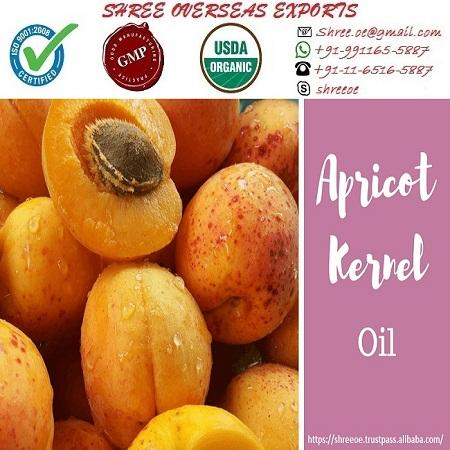 Organic Apricot Oil  - USDA Organic