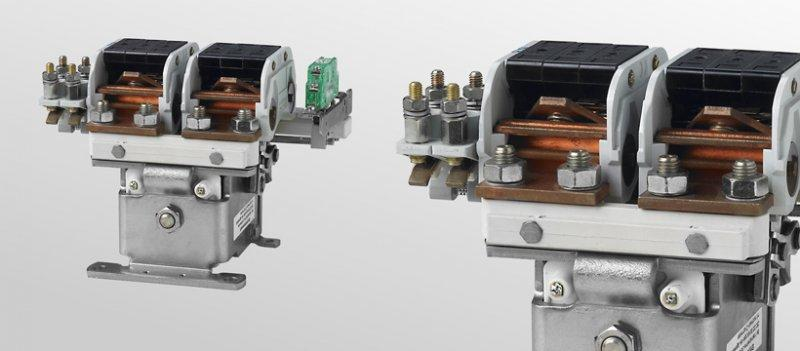 Cam conctactors C158 and C159 - Single and double pole cam contactors for 500 A