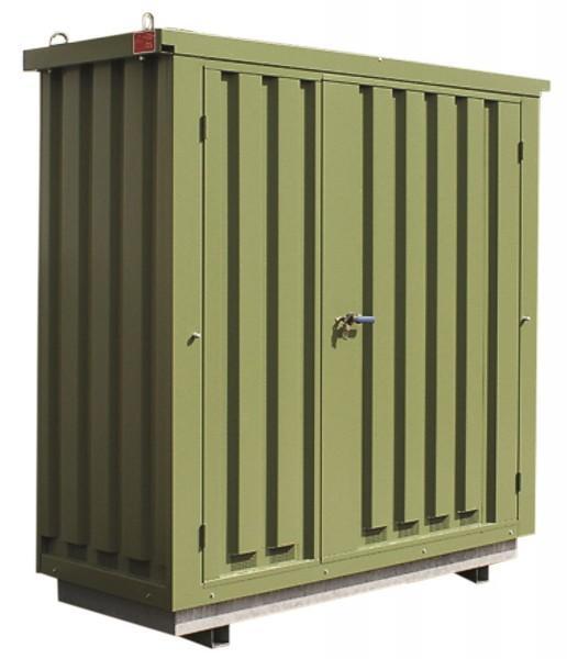 Pflanzenschutzmittellager PSM 1.1N lackiert mit... - Gefahrstoffcontainer