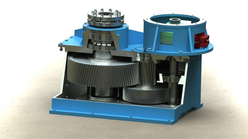 Wasserkraftgetriebe - null