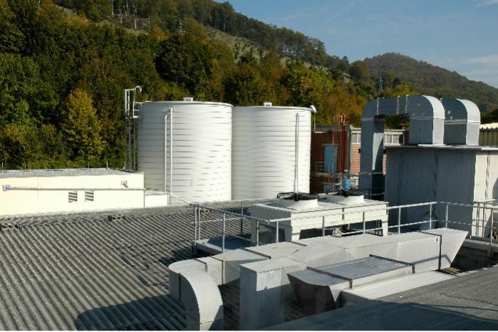 Lipp® Liquid Storage Tanks - Storage and treatment of liquids, e.g. waste water, sludge, etc.