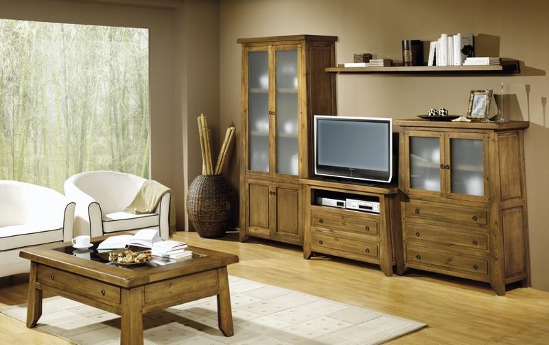 Muebles Para Comedor Y Salón Con Diseño Rústico - null