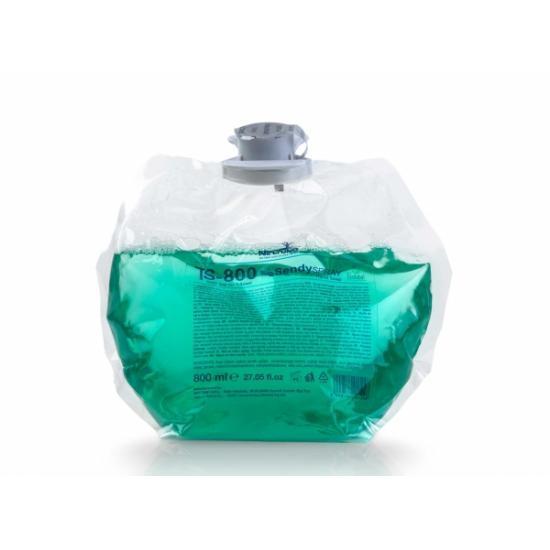 Savon spray mains vert parfum fleuri cartouche de 800... - Hygiène et entretien
