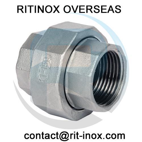 Stainless steel union ritinox overseas india