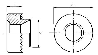 Self-clinching fasteners - PEM® - Mini rivet bushes Type RMHB