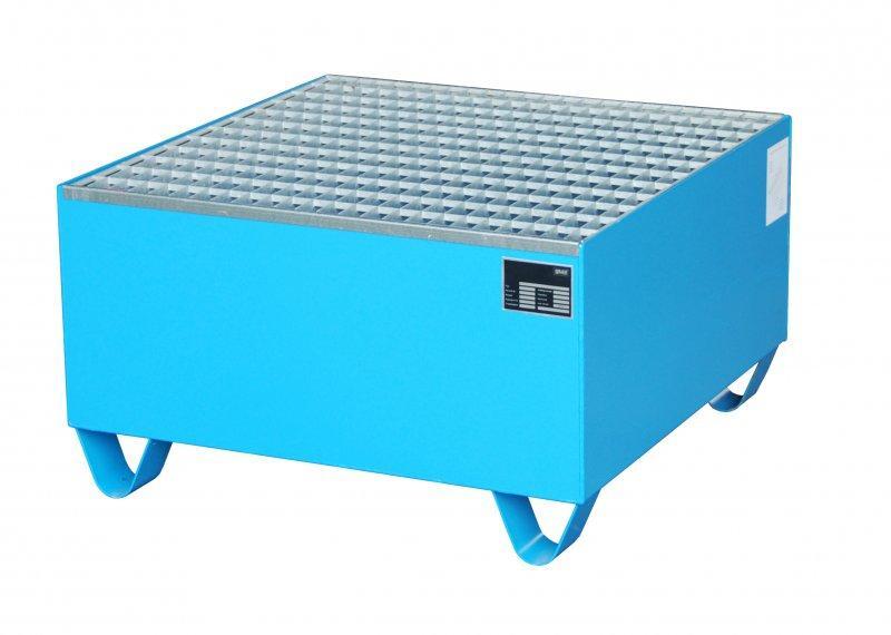 Bac de rétention type ECO 1/200 - Pour un stockage de 1 fût de 200 litres