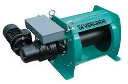 Treuil électrique industriel - pour charge de 1 000 à 10 000 kg