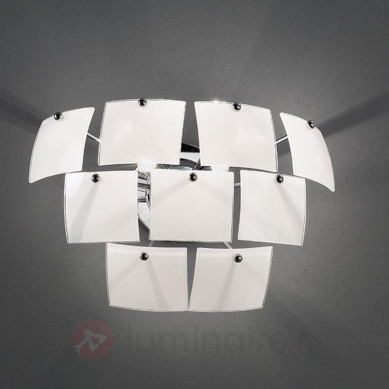 Applique élégante Urania blanche - Appliques design