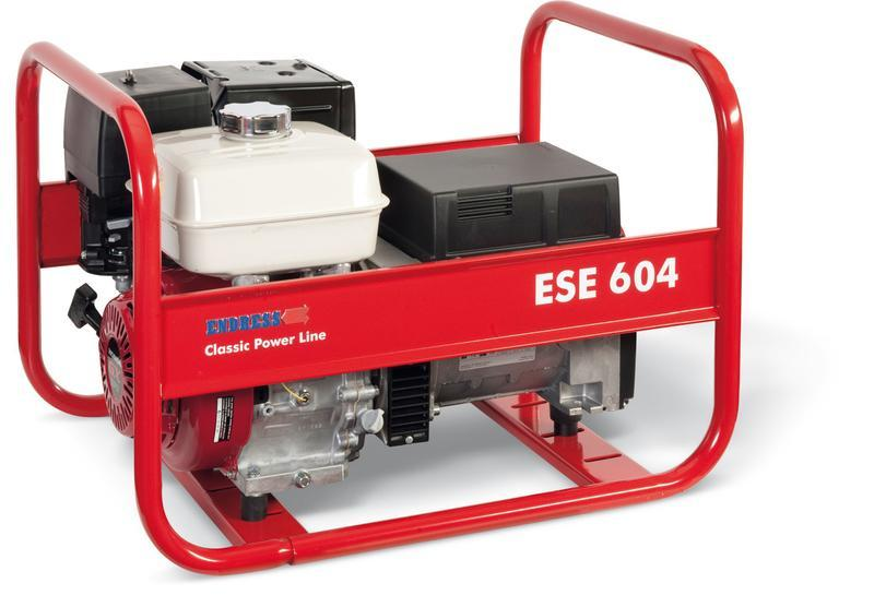 POWER GENERATOR for Professional users - ESE 604 DHS *