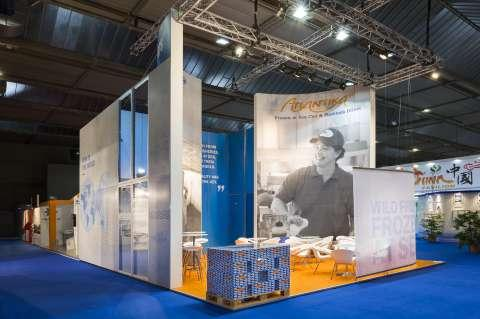 Ocean Trawlers - Project - Salon : Seafood Brussels