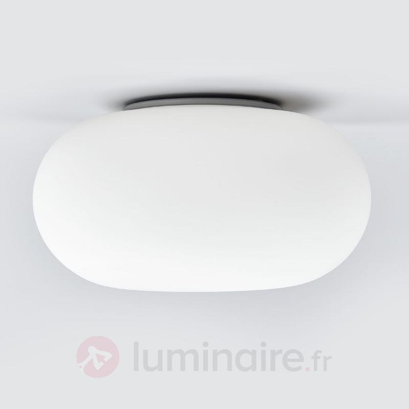 Plafonnier simple Optica - Plafonniers en verre