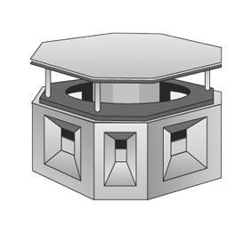Aspirateur statique cheminées COTREK - Conduits de cheminée