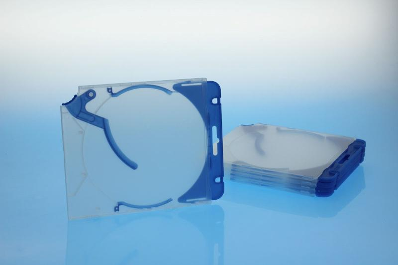 Ejector Case inkl. Abheftclip - 5erPack - blau - Retailverpackungen & Zubehör