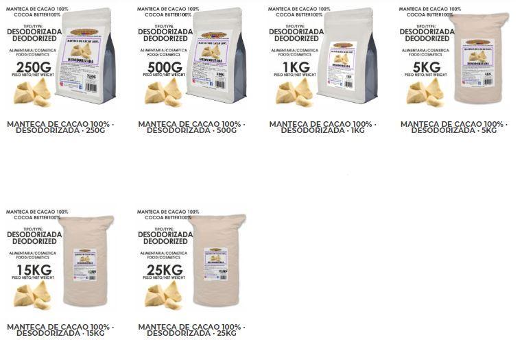 Manteca de Cacao - Tienda online Shop - Cacao y Derivados - Tienda online Shop