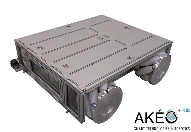 Véhicule guidé automatique AGV