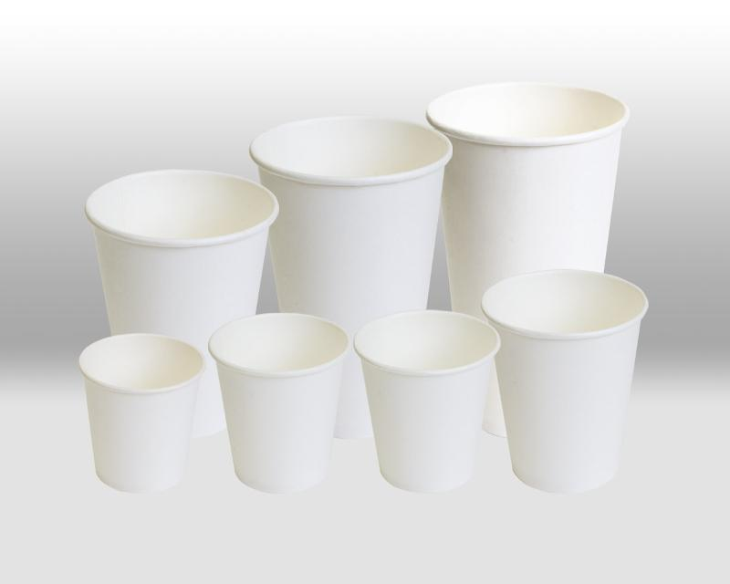 White paper cups - PAPER CUPS