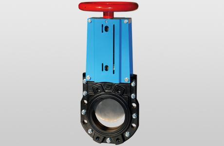 Knife-gate valve WGEB-MW.