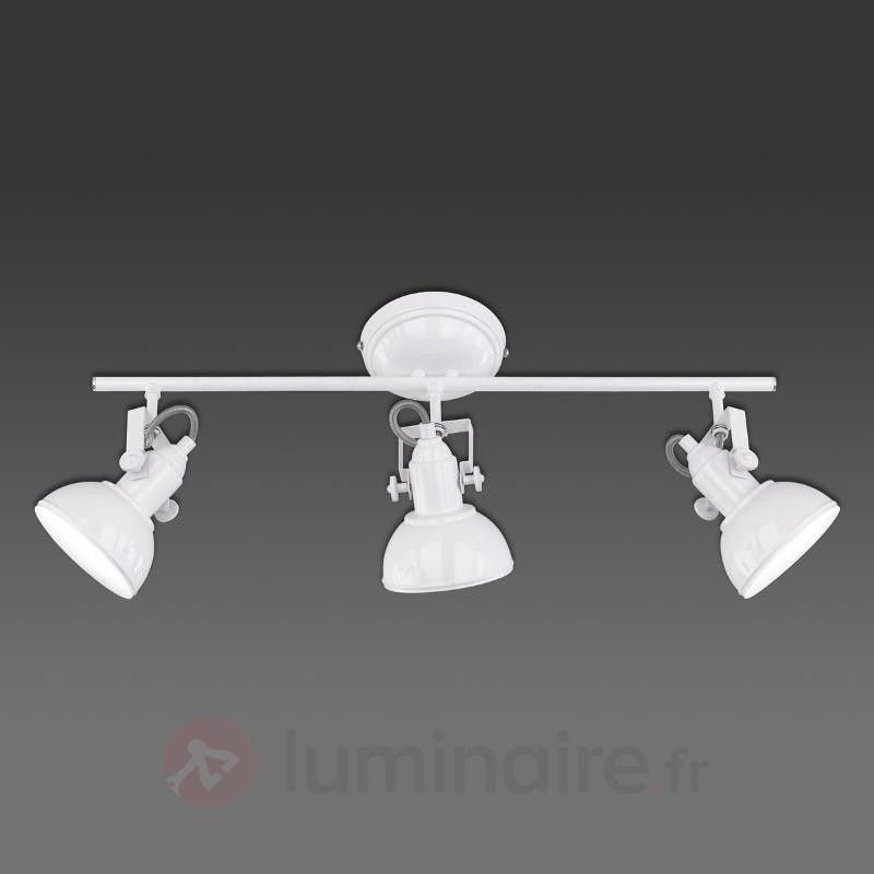 Gina - plafonnier à 3 lampes, design industriel - Tous les plafonniers