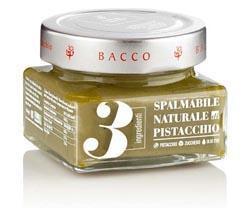Crema Naturale 3 Ingredienti Pistacchio - pistacchio 50%, zucchero, olio extravergine d'oliva.