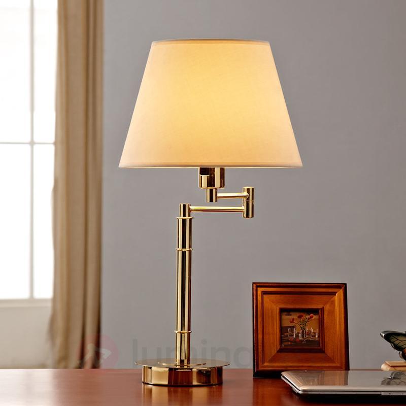 Lampe à poser classique Pola - Lampes à poser en tissu