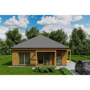 ONE-STOREY PANEL HOUSE - Panel house