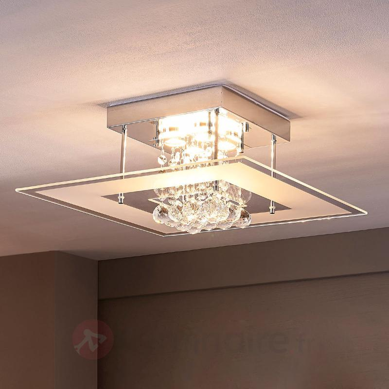 Plafonnier pour salle de bain LED Lisandra - Plafonniers LED