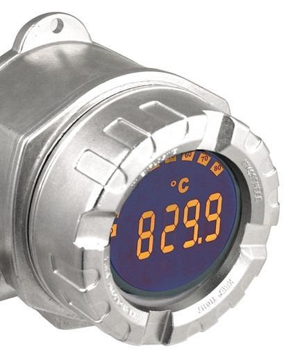 RIA14  Indicatore da campo alimentato in loop di corrente - Indicazione del segnale 4…20 mA in campo per una buona panoramica del processo