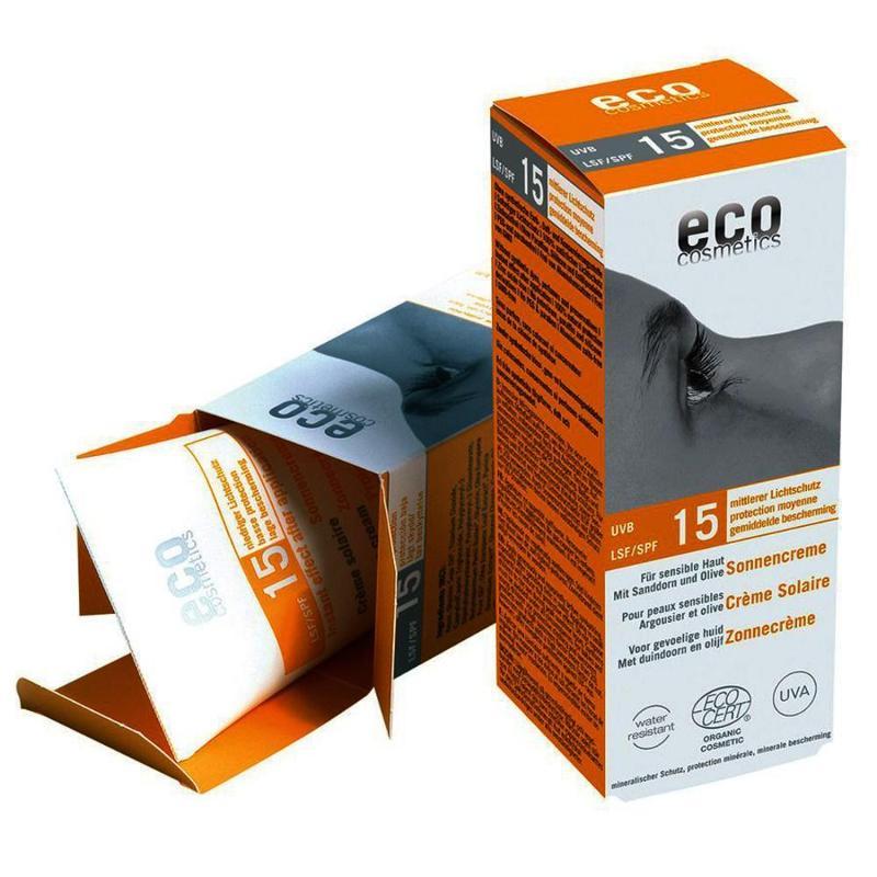 ECO Sonnencreme LSF 15 - 75ml mit Sanddorn und Olive - null