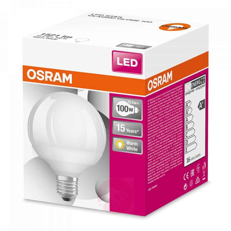 E27 15.5 W 827 LED globe lamp Star - light-bulbs