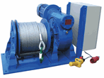 Electric Wormgaer Winches MCW-Series - Electric Winch MCW