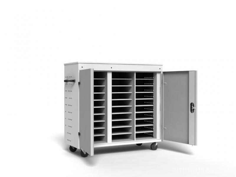 Laptop cabinets and carts -