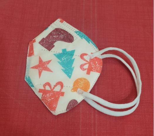 Protective Child Kids FFP2 Face Mask Disposable Colorful - FFP2 Child Kids FFP2 Face Mask Disposable ColorfuL EN149