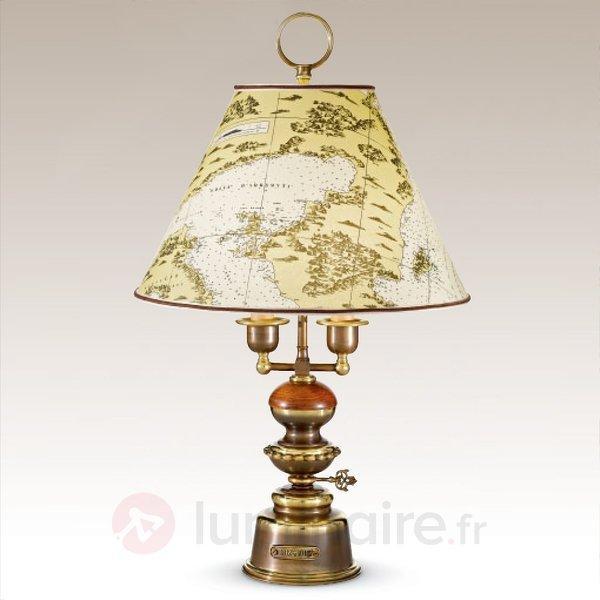 Lampe à poser stylée Laguna - Lampes à poser en bois