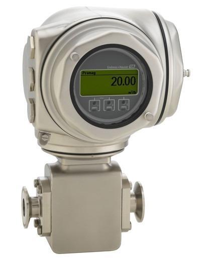 Proline Promag H 300 Magnetisch-induktiv Durchflussmessgerät - Spezialist für hygienische Anwendungen mit kompaktem Messumformer